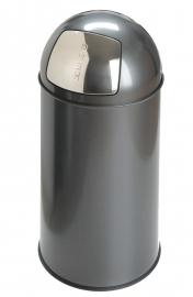 Pushcan grijs, EKO - 40 liter