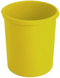 Kunststof papierbak geel - 30 liter