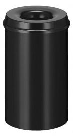 Vlamdovende papierbak zwart - 20 liter