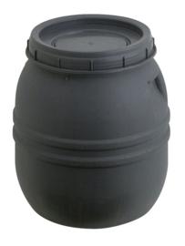 Ton met draaideksel - 70 liter