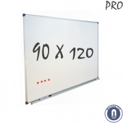 Whiteboard 900x1200mm magnetisch emaille pro