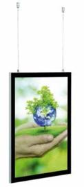 LED kliklijst magnetisch frame Economy dubbelzijdig
