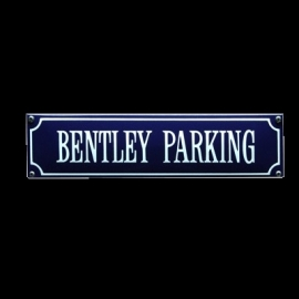 Emaille bord Bentley parking 330x80mm