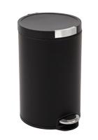 Artistic step bin, EKO zwart - 20 liter