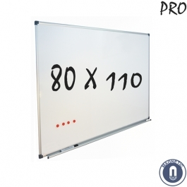 Whiteboard 800x1100mm magnetisch emaille pro