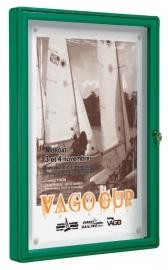 """vitrine """"2000"""" vleugeldeur 750x1000x75mm"""