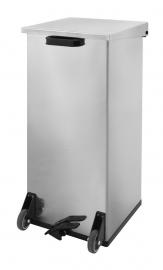 Mobiele Carro-Kick RVS - 110 liter
