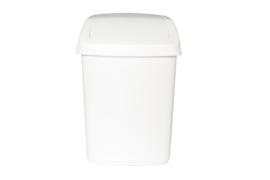 Afvalbak met swingdeksel- 25 liter ( set 4 stuks )