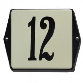 Emaille huisnummerbord model HO-41