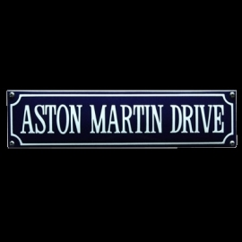 Emaille bord Aston Martin Drive 330x80mm
