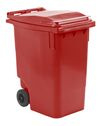 Mini container rood - 360 liter