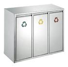 Recycling afvalbak - 3 x 15 liter