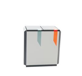 RecycloStar 2 - 2 x 55 liter