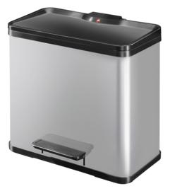 Oko Duo Plus, Hailo zilver/zwart - 1 x 17 en 1 x 9 liter