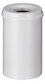 Vlamdovende papierbak grijs - 20 liter