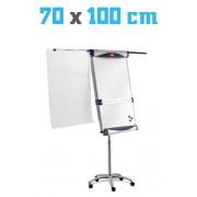Flipover Nobo Piranha - Whiteboard 700x1000mm - Magnetisch - Mobiel