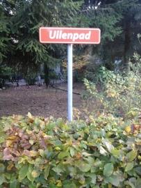 100 oranje straatnaamborden Droompark Beekbergen