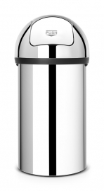 Afvalbak met push/ touchdeksel 60 tot 70 liter