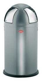 Push Two, Wesco aluminiumgrijs - 2 x 25 liter