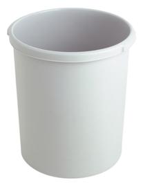 Kunststof papierbak grijs - 30 liter