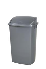 Afvalbak Swing grijs - 50 liter