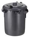 Kunststof vuilnisemmer met deksel - 70 liter