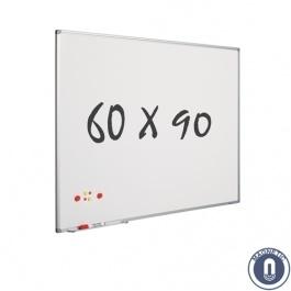 Whiteboard 600x900mm magnetisch