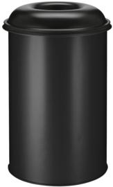 Vlamdovende papierbak zwart - 200 liter