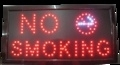 LED bord 480x250x22mm NO SMOKING