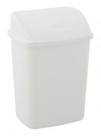 Afvalbak swingdeksel - 15 liter ( set 24 stuks )