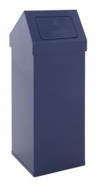 Afvalbak met push/ touchdeksel 100 liter en meer