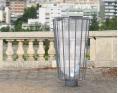 Afvalbak Lofoten anti terrorisme - 100 liter