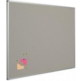 Prikbord bulletin 1200x1800mm grijs