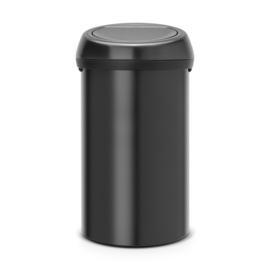 Touch Bin, Brabantia zwart- 60 liter