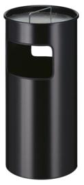 As-papierbak zwart - 50 liter