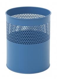 Half geperforeerde papierbak blauw - 10 liter