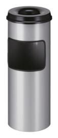 As-papierbak met dover aluminiumgrijs - 30 liter