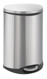 Shell recycling bin, EKO mat RVS - 2 x 22 liter