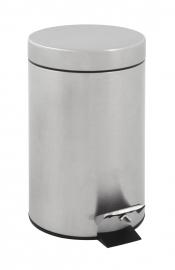 Pedaalemmer mat RVS - 3 liter