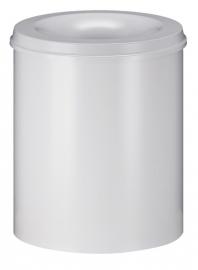 Vlamdovende papierbak wit - 80 liter