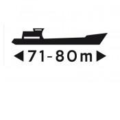 scheepvaartbord F.4.2 klasse III DOR