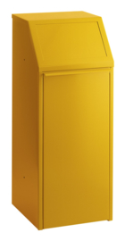Afvalverzamelaar geel - 70 liter