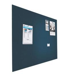 Prikbord bulletin 600x900mm blauw zwevend
