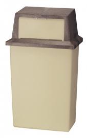 Wall Hugger beige - 80 liter