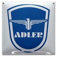 Emaille bord Adler vierkant 400mm