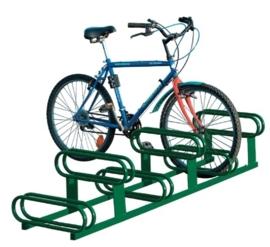 fietsparkeerbeugel hoog-laag 6-plaatsen