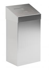Afvalbak met push/ touchdeksel 50 tot 60 liter
