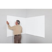 Skin whiteboard 750x1150mm polyester coating