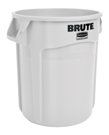 Ronde Brute container, Rubbermaid wit - 75,7 liter