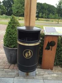 Morvan afvalbak Pannekoekhuis Belveren